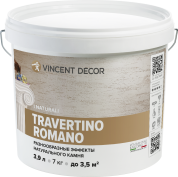 Vincent Decor Decorum Travertino Romano / Травертино Романо декоративноепокрытие с эффектом натурального камня